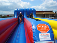 Bungee Run Jumper House