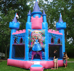 Princess Inflatable Boune House